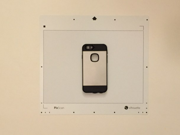 Create perfectly sized custom phone decals using the Silhouette PixScan™ cutting mat