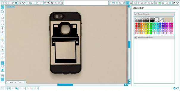 DIY perfectly sized custom phone decals using the Silhouette PixScan™ cutting mat