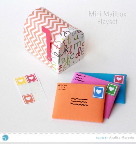 MiniMailboxPlaysetSilhouetteKidsCraft