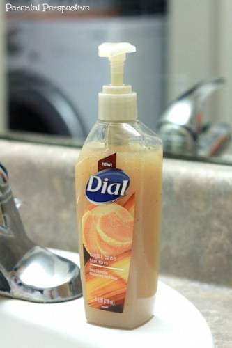 Dial Sugar Cane Husk Scrub Hand Soap | A Review & Giveaway