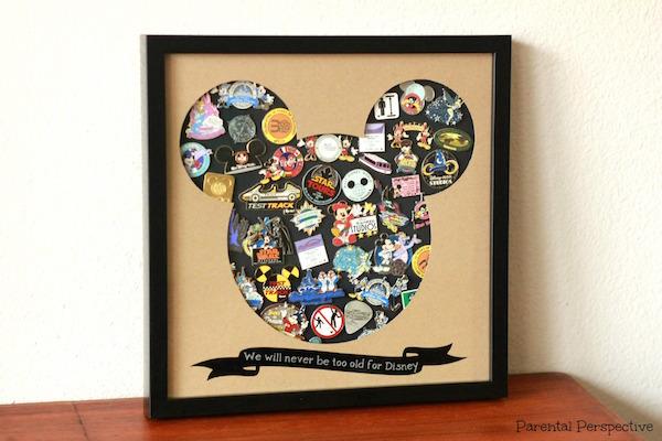 DIY Disney Pin Trading Display Case   Parental Perspective