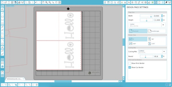 This tutorial walks you through every step of using Silhouette sketch pens to create a simple watercolor notecard. It's an easy to follow how to for using Silhouette sketch pens.