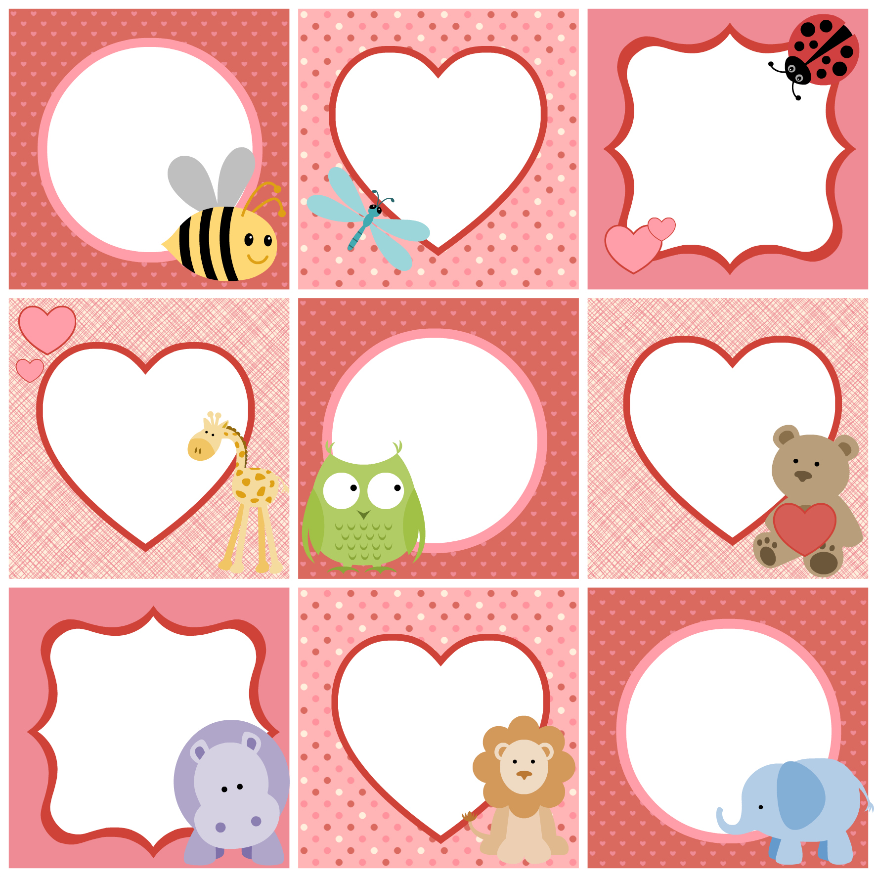 Valentine S Day Cute Printable Tags For Kids Parent Avenue