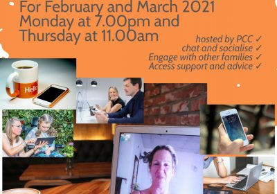 Virtual Coffee and Chat Sessions with the PCC in February and March 2021