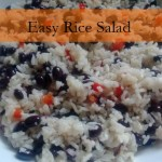 Easy Rice Salad via www.parentclub.ca
