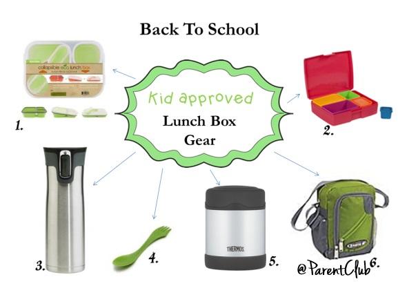 back to school lunch box gear