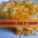 Slow Cooker Mac n' Cheese