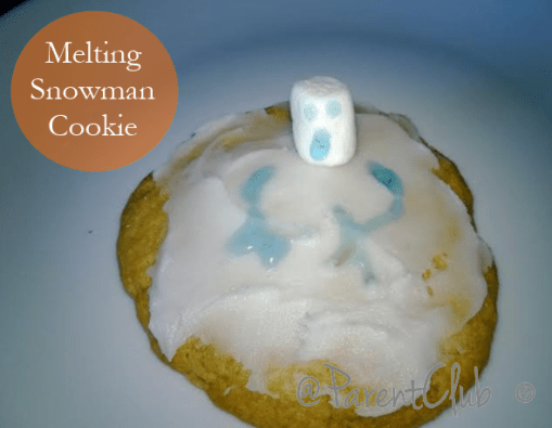 Easy Melting Snowman Cookie Recipe