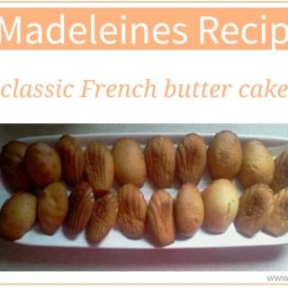 Madeleines Recipe classic French butter cakes via www.parentclub.ca