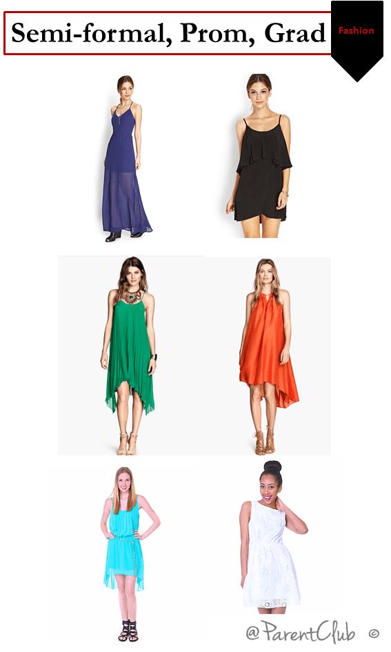 Semi-Formal, Prom, Grad Fashion Tips