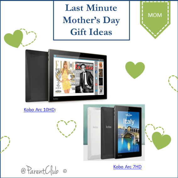 Last Minute Mother's Day Gift Ideas From Kobo