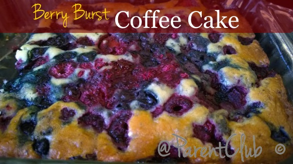 Berry Burst Coffee Cake Recipe