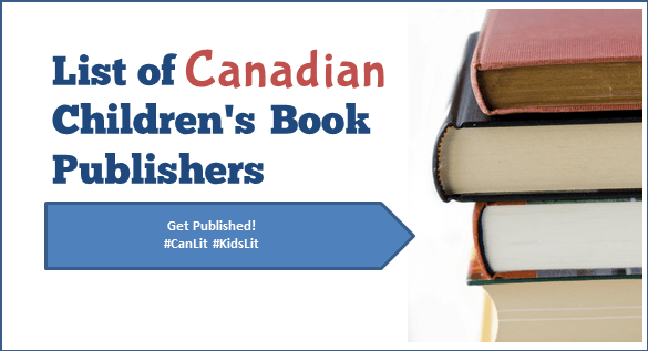 Canadian Children's Book Publishers