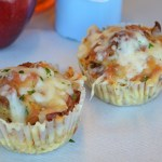 Gluten Free Pepperoni Pizza Bread Pudding Muffins