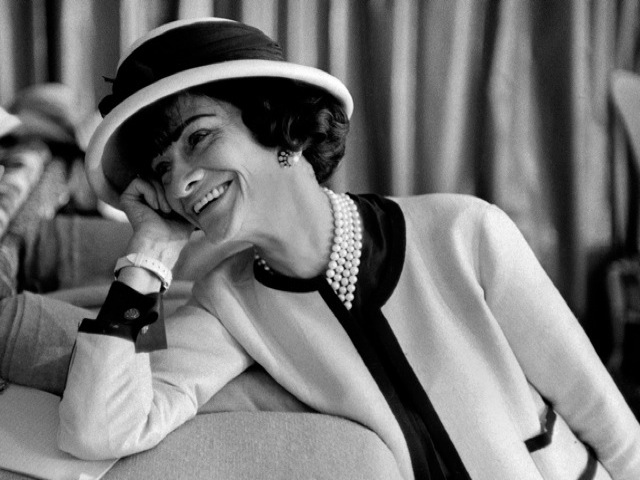 Coco-Chanel-in-white-jacket