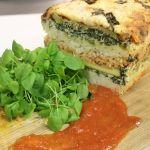 Veggie Rice Lasagna Loaf Recipe