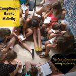 Compliment Books Activity