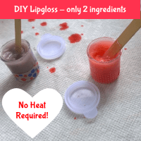 DIY Lipgloss only 2 ingredients