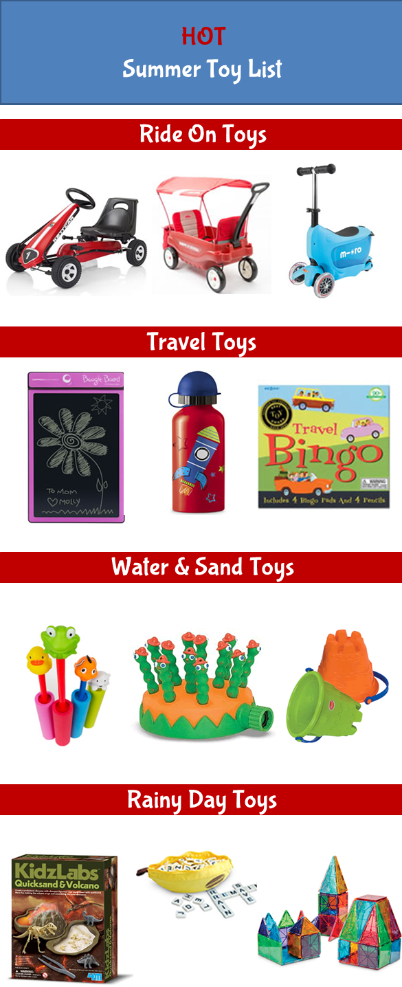 Hot Summer Toy List