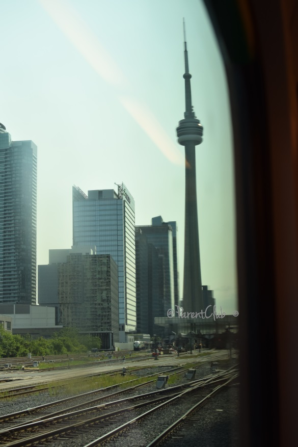 GO Transit CN Tower
