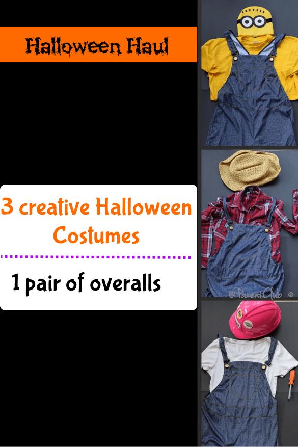 Halloween Haul 3 creative Halloween costumes
