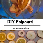 DIY potpourri, easy homemade potpourri