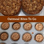 Oatmeal Bites To Go, baking, recipe