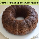 The Secret To Making Boxed Cake Mix Better