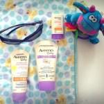 Why do I pack Aveeno Sunscreen?