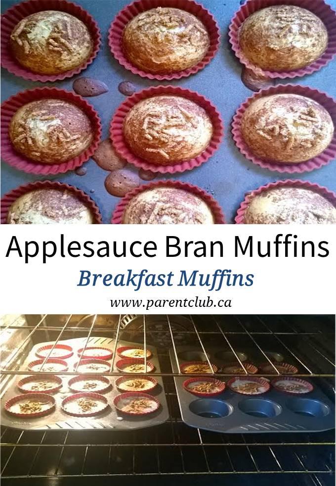 Applesauce Bran Muffins Breakfast Muffins