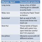 DIY Olympics at Home for Kids