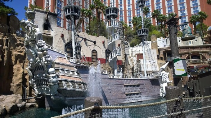 Treasure Island, Las Vegas, Vegas,