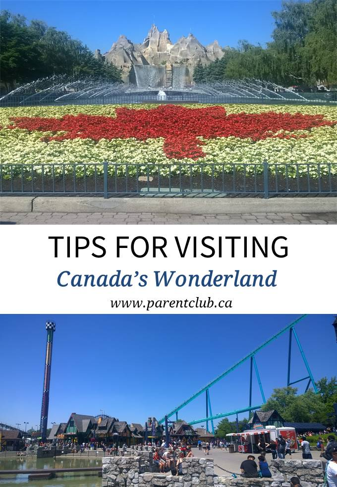 Tips For Visiting Canada's Wonderland - www.parentclub.ca