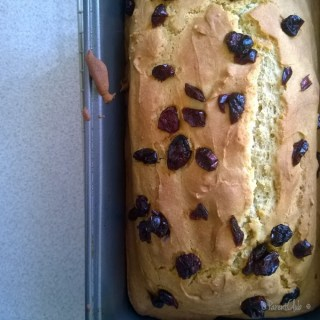 Gluten Free Cranberry Lemon Loaf Recipe