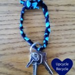 DIY T-shirt key ring
