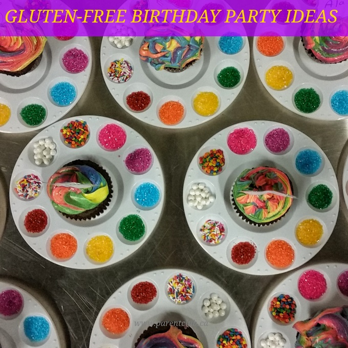 Gluten-free birthday party ideas via www.parentclub.ca