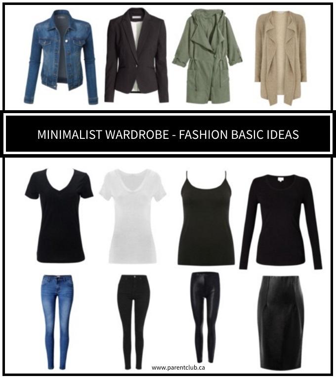 Minimalist Wardrobe Fashion Basic Ideas