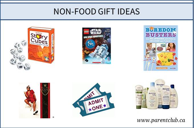 Non-Food Gift Ideas via www.parentclub.ca
