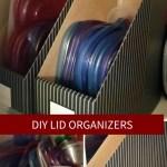DIY Lid Organizers