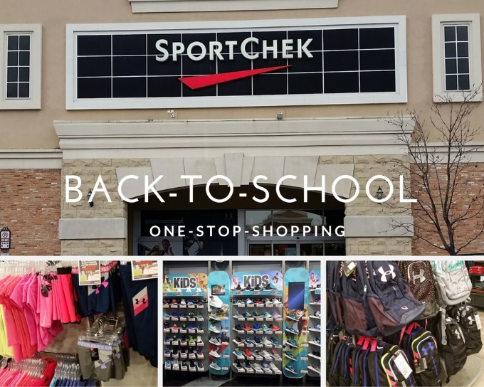 Back-To-School-One stop shopping at Sport Chek