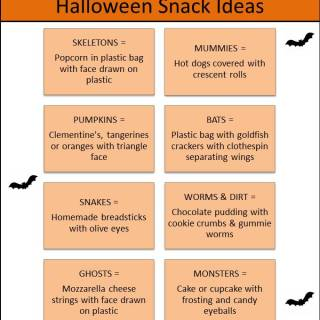 Halloween Snack Ideas via www.parentclub.ca