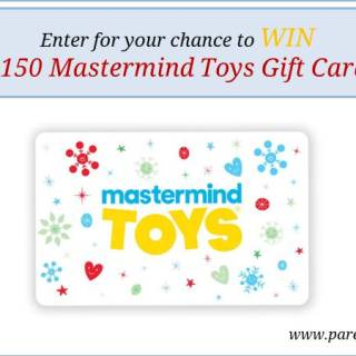 $150 Mastermind Toys Gift Card giveaway via www.parentclub.ca