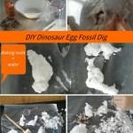DIY Dinosaur Egg Fossil Dig