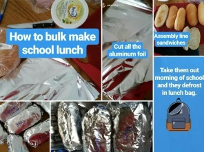 Make and Freeze School Lunches in bulk via www.parentclub.ca thumbnail