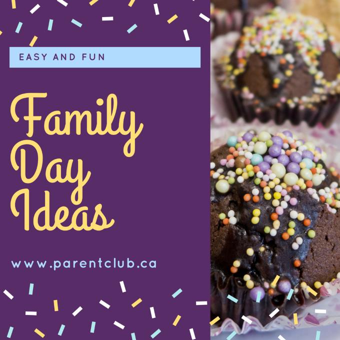 Easy and Fun Family Day Ideas via www.parentclub.ca