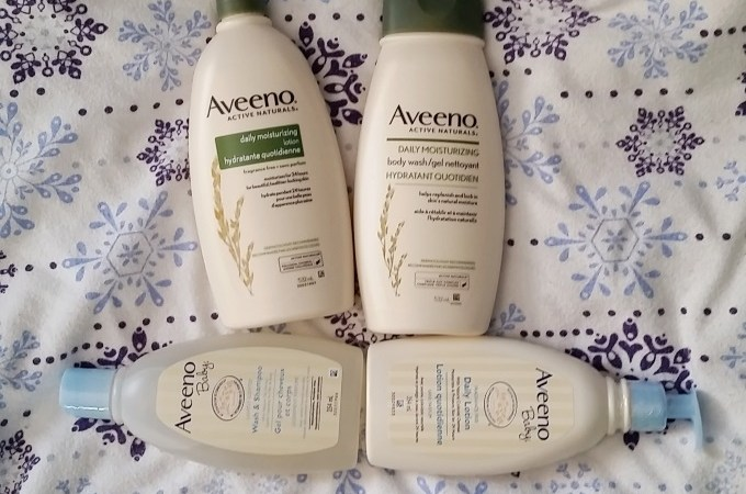 Aveeno Parent and Tot Moisturizing Tips