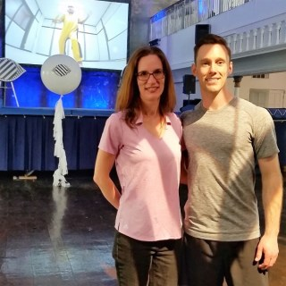 See it all with Alcon Dailies Parent Club Caroline Fernandez and Olympic medalist Jason Burnett