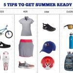 5 TIPS TO GET SUMMER READY for kids, him, her with Sport Chek via www.parentclub.ca