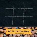 DIY Tic Tac Toe Game via www.parentclub.ca