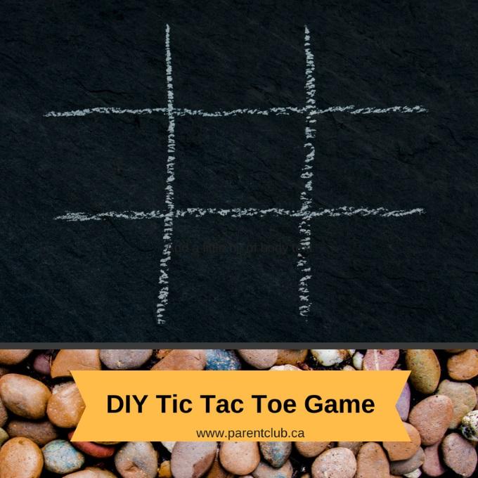 DIY Tic Tac Toe Game via www.parentclub.ca